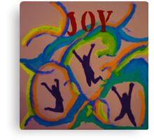 Joy-Again Canvas Print