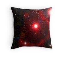 The Rose Petal Nebula  Throw Pillow