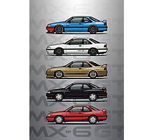 Stack of Mazda MX6 GTs Photographic Print