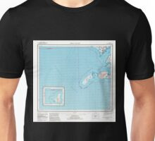 USGS TOPO Map Alaska AK Trinity Islands 707889 1954 250000 Unisex T-Shirt