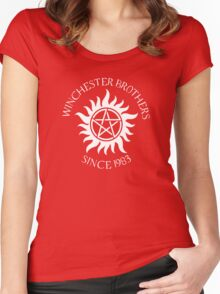 Winchester Brothers Women's Fitted Scoop T-Shirt