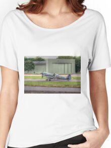 Supermarine Spitfire Mk LF XVIE TE311   Women's Relaxed Fit T-Shirt