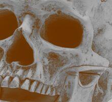Sepia Skull Princess Sticker
