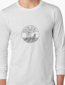 Bodhi Tree Dog Long Sleeve T-Shirt