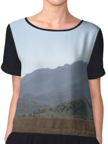 Heading for the Hills Chiffon Top