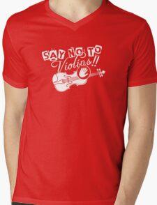 Anti-Violins Mens V-Neck T-Shirt