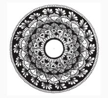 Mandala Design  Kids Tee
