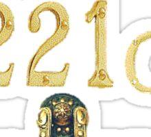 Resident of 221C Baker Street Sticker