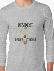 Resident of 221C Baker Street Long Sleeve T-Shirt