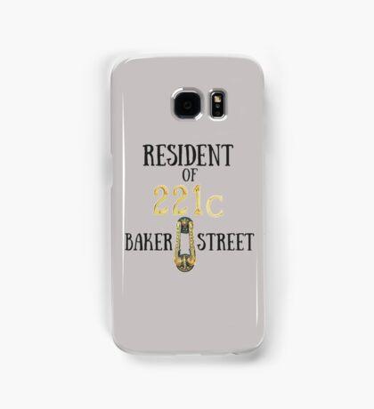 Resident of 221C Baker Street Samsung Galaxy Case/Skin
