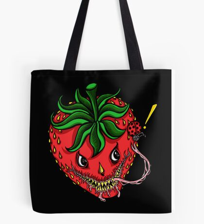 Sinister Strawberry (pillow) Tote Bag