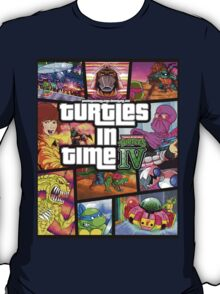 Turtles In Time GTA Parody T-Shirt