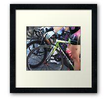 Femme Racing  Framed Print