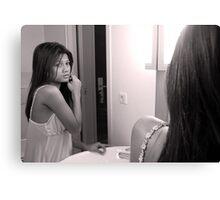 Mirror mirror... Canvas Print
