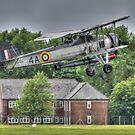 Fairey Swordfish Mk1 Takeoff by Nigel Bangert