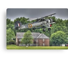 Fairey Swordfish Mk1 Takeoff Canvas Print
