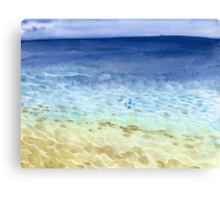 Tropical Seaside Canvas Print