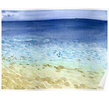 Tropical Seaside Poster