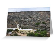 Mission at Rietpoort Northern Cape Greeting Card