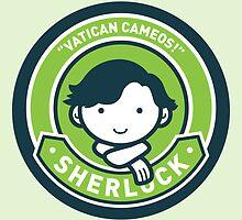 Cute Sherlock Holmes in Green by mydeardear