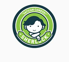 Cute Sherlock Holmes in Green Unisex T-Shirt