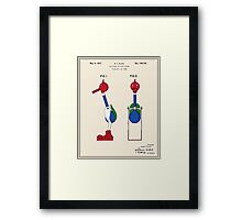 Drinking Bird Patent Framed Print