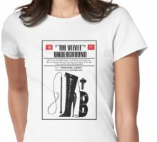 The Velvet Underground Womens Fitted T-Shirt