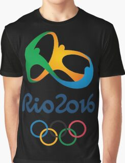 Rio Olympic 2016 Graphic T-Shirt