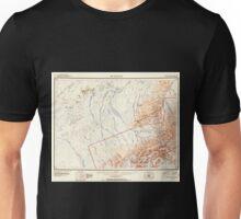 USGS TOPO Map Alaska AK Mount McKinley 361198 1952 250000 Unisex T-Shirt