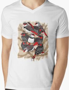 Firetails Mens V-Neck T-Shirt