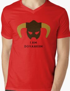 I am Dovahkiin Mens V-Neck T-Shirt