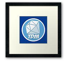 the diamond minecart dantdm Framed Print