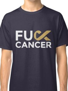 Fuck cancer shirt Classic T-Shirt