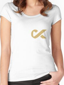 Fuck cancer shirt Women's Fitted Scoop T-Shirt