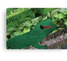 Happy Lizard Canvas Print