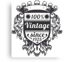 Vintage Labels Canvas Print