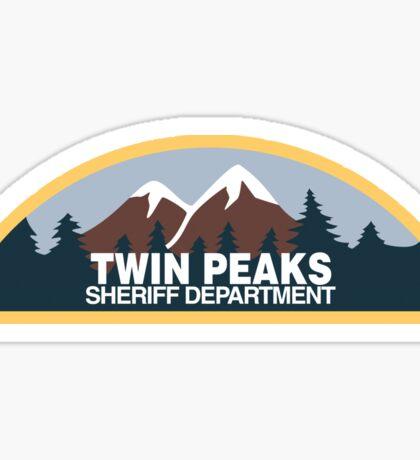 Twin Peaks Sheriff Department Sticker