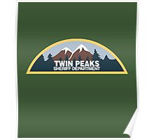 Twin Peaks Sheriff Department Poster