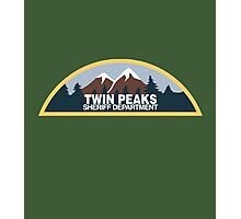 Twin Peaks Sheriff Department Photographic Print