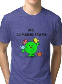 Mr Climbing Frame Tri-blend T-Shirt