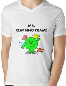 Mr Climbing Frame Mens V-Neck T-Shirt