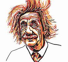 Albert Einstein by gavcam