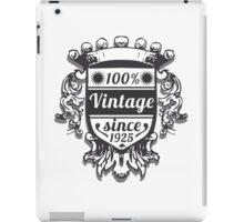 Vintage Labels iPad Case/Skin