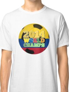 2014 World Champs Ball - Colombia Classic T-Shirt