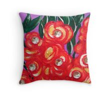 Bloomin Brit   Throw Pillow