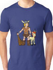 Bobby The Barbarian & Uni The Unicorn Unisex T-Shirt