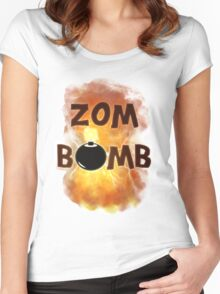 Zombomb Women's Fitted Scoop T-Shirt