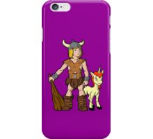 Bobby The Barbarian & Uni The Unicorn iPhone Case/Skin