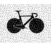 Track Bike Vector Art Photographic Print