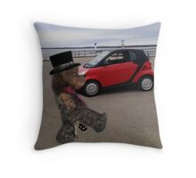 SMART BEARS DRIVE SMART CARS CREATIVE THROW PILLOW Throw Pillow
